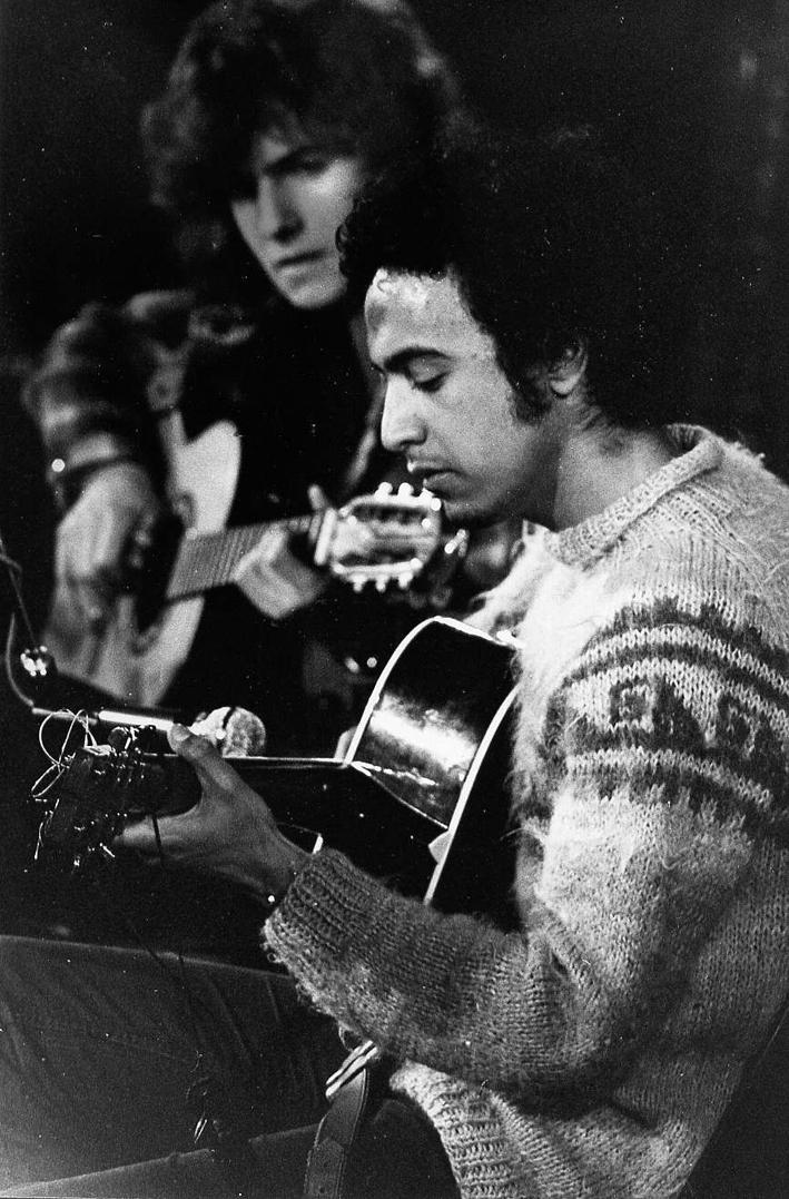Avec Jack Ada en 1974