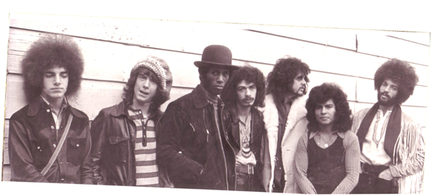 Santana Band 1971 by Jim McCarthy