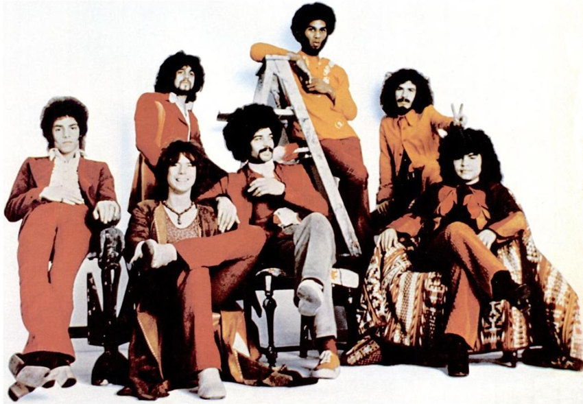 Santana band (1971)   © Joan Chase