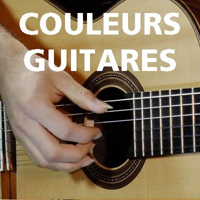 COULEURS GUITARES