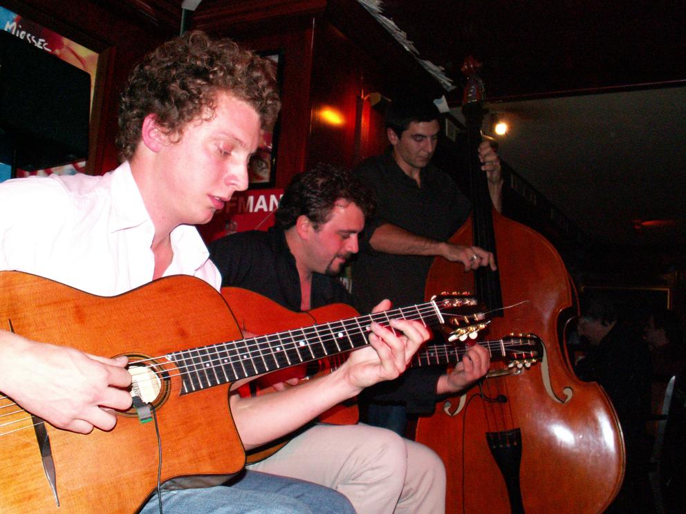 Le trio : Adrien Moignard, Mathieu Chatelain & Jérémie Arranger