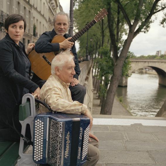 Avec Claire Elzière et Daniel Colin © Esther Berelowitsch