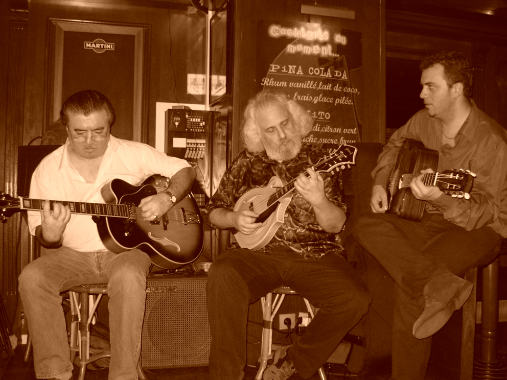 Patrick, David Grisman & Mathieu