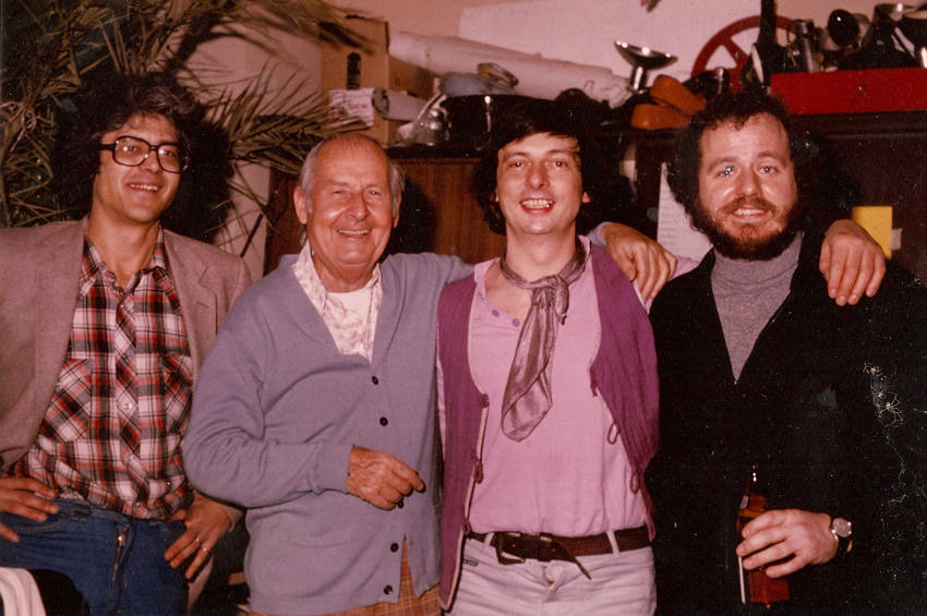 Larry, Stephane Grappelli, Philip, NHOP