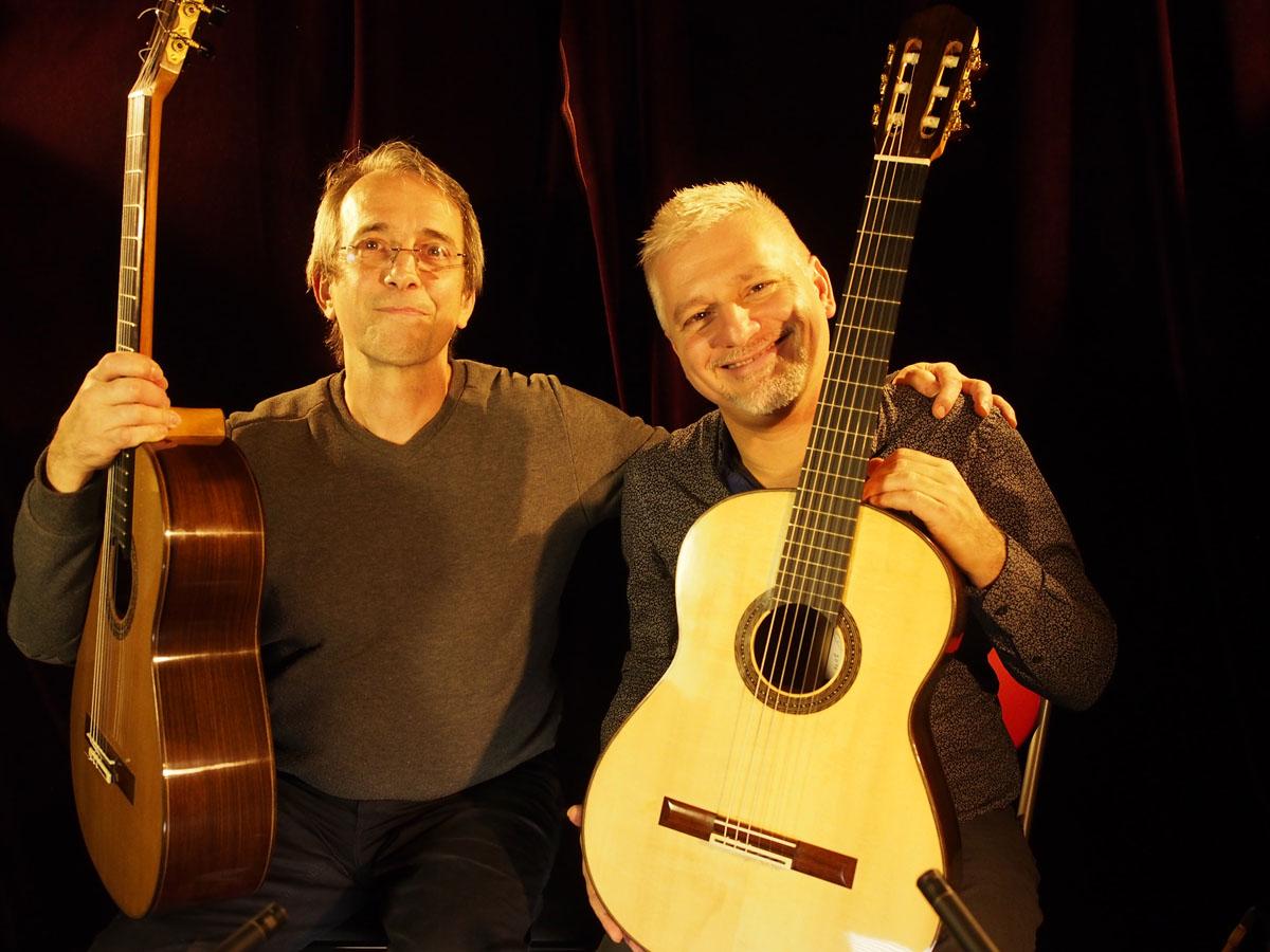 Benoit Zeidler et Johan