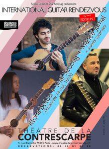 International Guitar Affiche