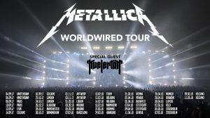 Metallica Tour visuel