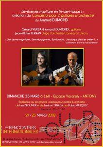 Concerto Arnaud Dumond