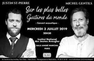 JUSTIN ST-PIERRE & MICHEL GENTILS